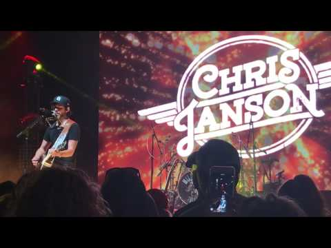"Chris Janson ""Redneck Life"" written by Chris Janson and Mitchell Oglesby"