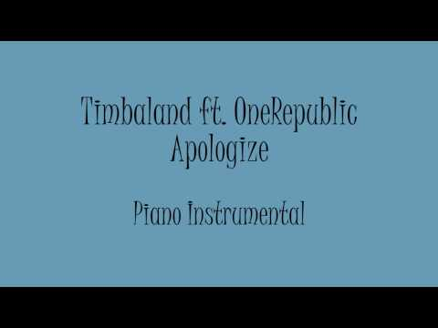 Timbaland ft. OneRepublic - Apologize (Piano Instrumental) Karaoke