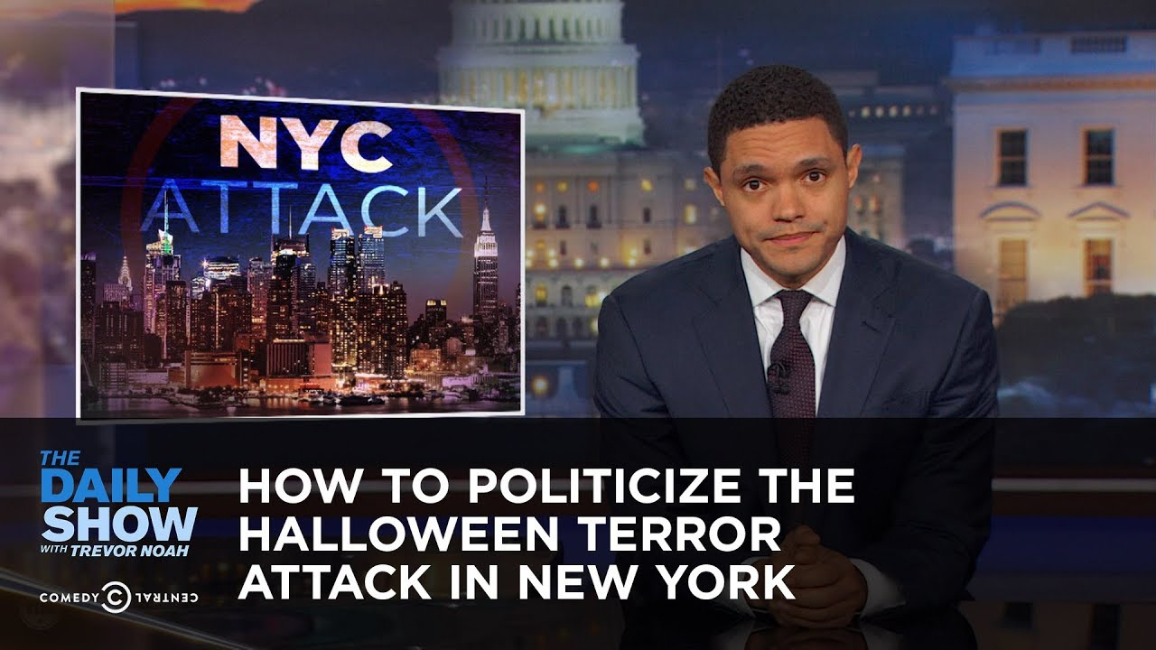How to politicize the halloween terror attack in new york for Tv shows to see in new york