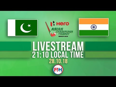 Pakistan vs India | Men's 2018 Hero Asian Champions Trophy Final | FULL MATCH LIVESTREAM