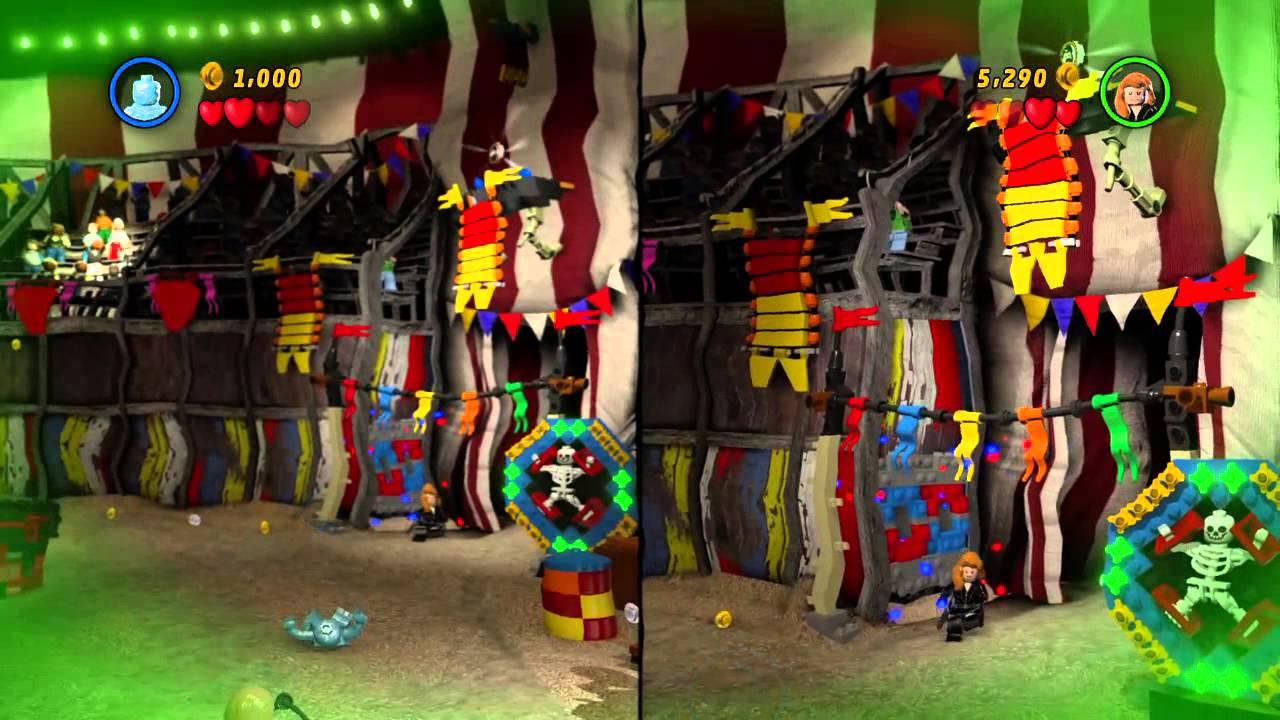 marvel lego circus