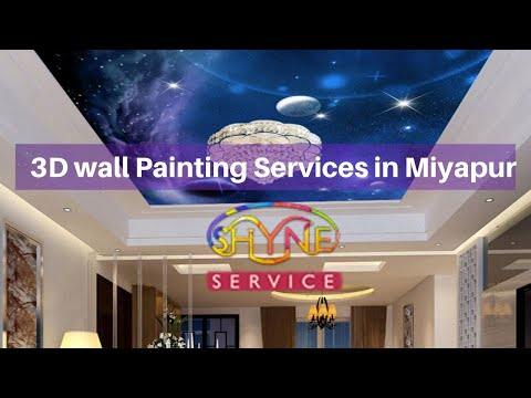 3D wall Painting Services in Miyapur | 3d painting services in Hyderabad