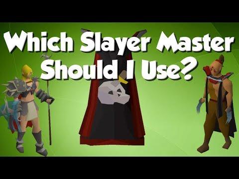 [OSRS] Which Slayer Master Should I Use?