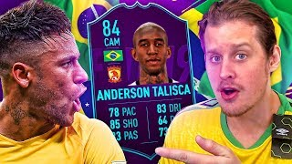 OMG INFORM TALISCA + POTM LUCAS! THE BEASTS OF BRAZIL SQUAD! FIFA 19 ULTIMATE TEAM