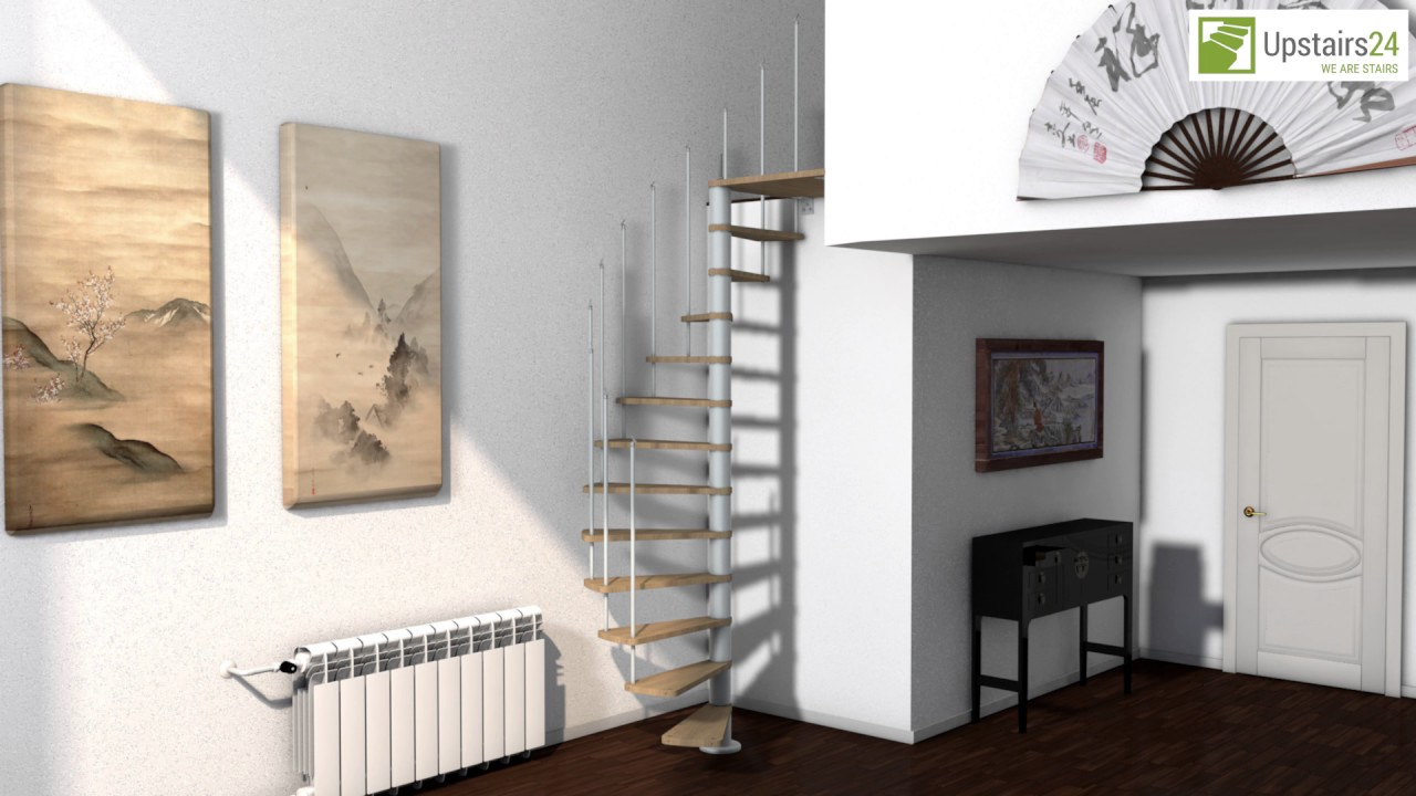 escalier colima on en kit flamenco upstairs24 youtube. Black Bedroom Furniture Sets. Home Design Ideas