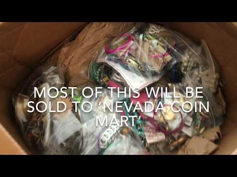 What We Do With 100 Pounds Of Jewelry - Nevada Coin Mart