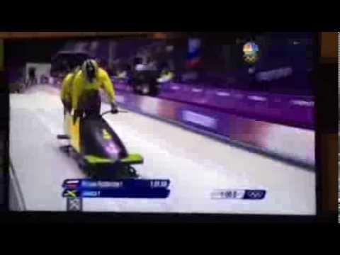 Jamaican Bobsled Run - Sochi 2014