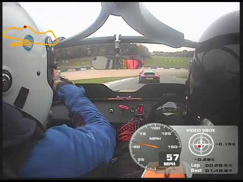 Caterham R300 Donington. Instruction session. Oct 17 AS