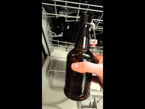 "How to sanitize beer bottles - ex. Swing Cap bottles aka ""EZ Cap"" (pt 1)"