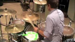 All Because of Jesus Fee Drum Cover #5