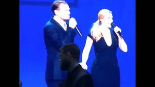 titanic reunion leonardo dicaprio kate winslet and billy zane at his foundations gala