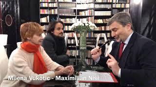 """Intervista a Milena Vukotic e Maximilian Nisi  in """"Autunno di fuoco"""""""