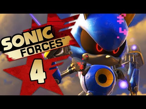 Sonic Forces - Gameplay Walkthrough Part 4 | Showdown with Metal Sonic! (S Rank)