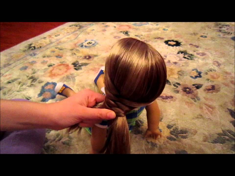 How To Do An Easy Cute Hairstyle On Your American Girl Doll