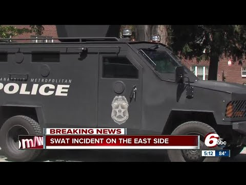 IMPD SWAT called after man barricaded inside home