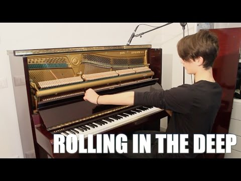 ROLLING IN THE DEEP (aggressive piano cover) - Cristian Labelli