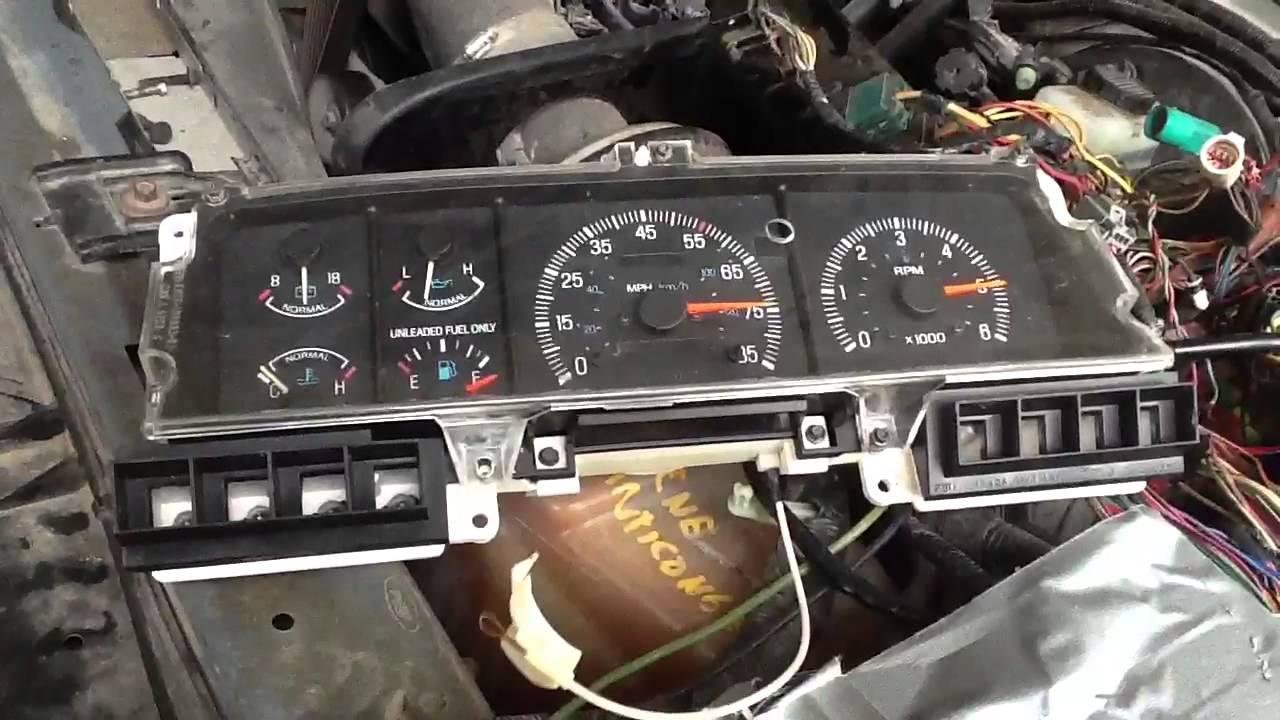 1988 ford ranger engine diagram probando el tablero de    ford    f 150 youtube  probando el tablero de    ford    f 150 youtube