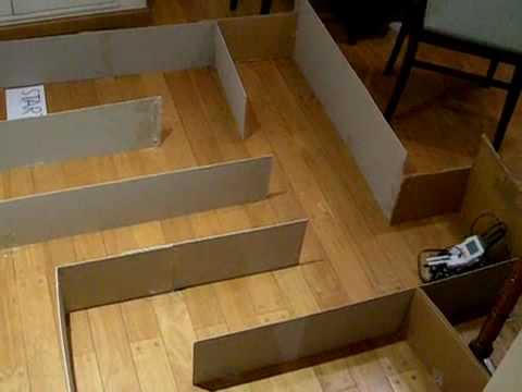 Lego Mindstorms NXT - 4 Sensor Maze | FunnyCat.TV