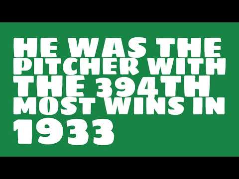 Was Lefty Grove a Hall of Famer in 1933?