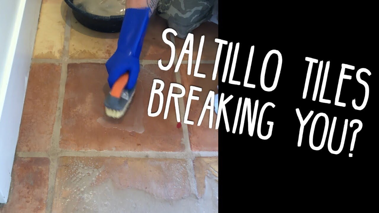 how to remove sealer from saltillo tile stripping terracotta floors