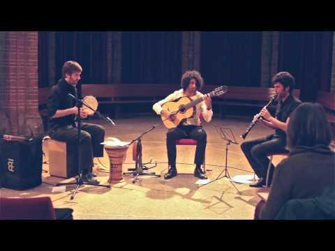 Ramón Kailani Trio. Arabic music, flamenco, fusion. Concert Vondelkerk 1