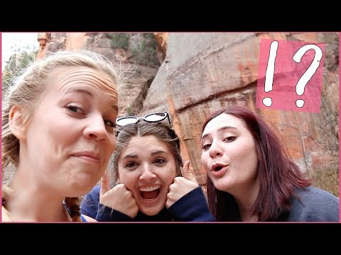 I DID WHAT IN THE WILDERNESS!? | Spring Break Vlog 3 | Sedona, AZ