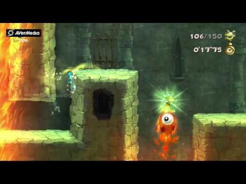 Rayman Legends (X360) Murfy's Dungeon: Grab them quickly! (Daily Extreme Challenge, 4/1/2017)