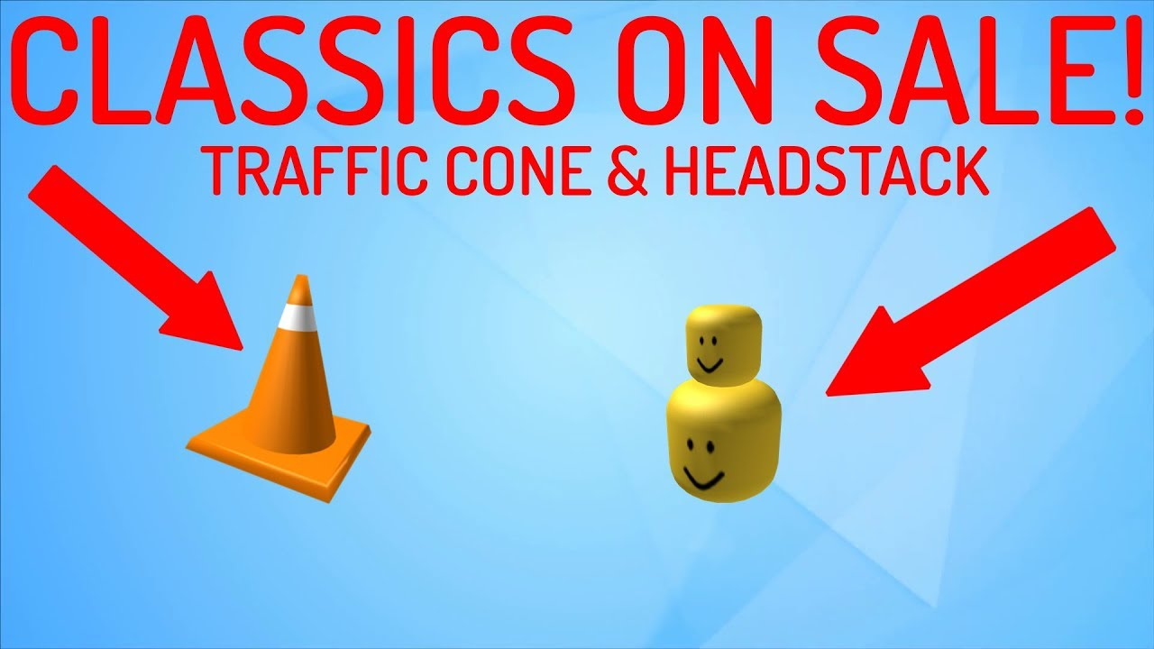 Traffic Cone Headstack On Sale Roblox Presidents Day Sale 2019