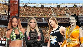 Ronda Rousey & Kavita Devi vs. Alexa Bliss & Alicia Fox l Tag Team Match