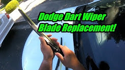 2013 Dodge Dart Wiper Blade Replacement