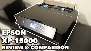 Epson XP-15000 Wide Format Printer Review