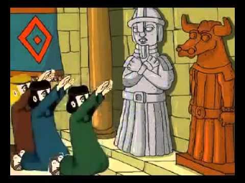 قصة النبي ابراهيم كرتون