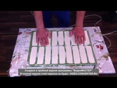ИЗГОТОВЛЕНИЕ гипсовой плитки,легко и просто