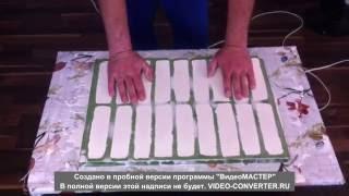 видео Гипсовая плитка своими руками: способы изготовления