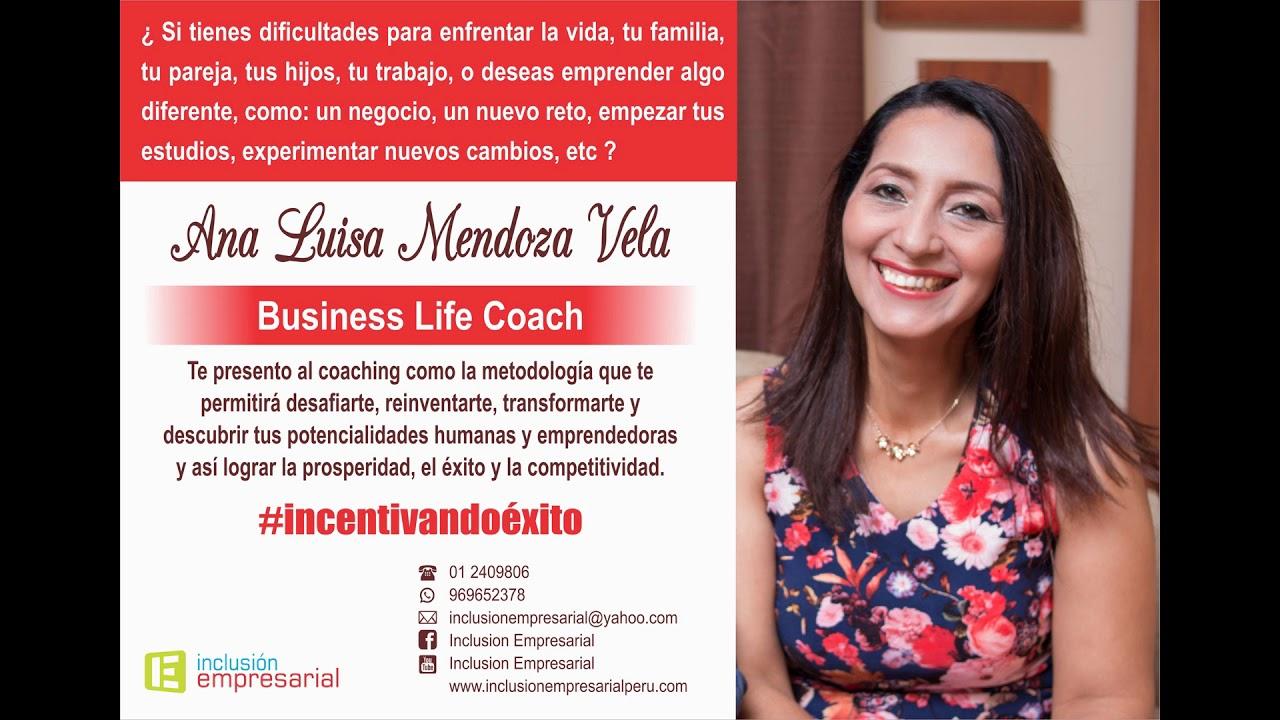 Conferencia Motivacional 2019 Ana Luisa Mendoza Vela