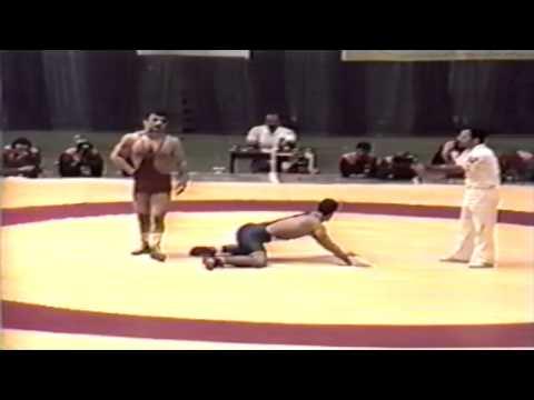 1994 Takhti Cup: 82 kg Final Amir Reza Khadem (IRI) vs. Justin Abdou (CAN)