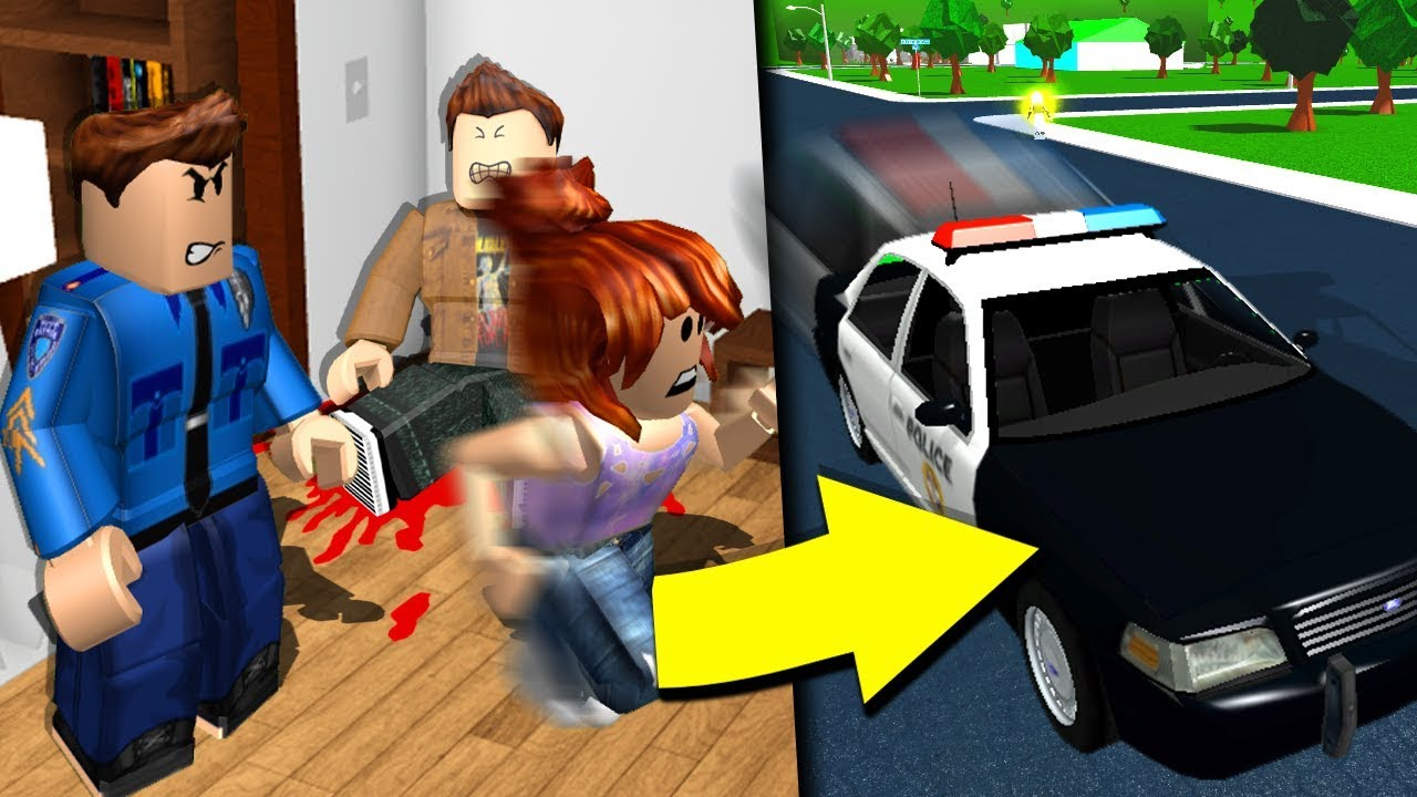 Bloxburg girl GETS PUT IN OUR JAIL (she didn't even do anything bad)