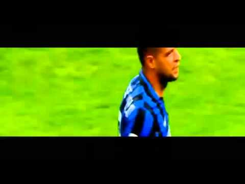 Felipe Melo And Mario Balotelli Almost Fight In Derby Inter vs AC Milan 2015