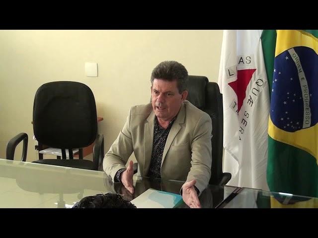 Coletiva de Imprensa com o Prefeito de Sete Lagoas - MG, Duílio de Castro  - 03-06-19