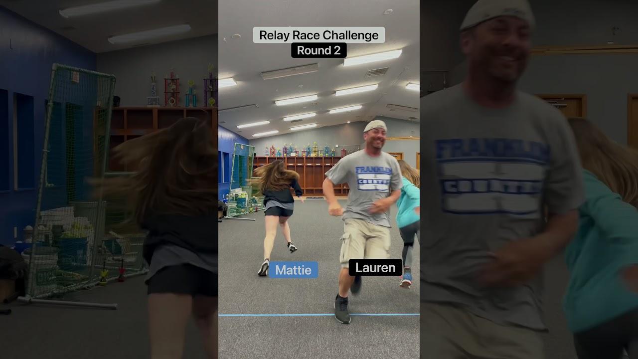 Relay Race Challenge!!💨💨