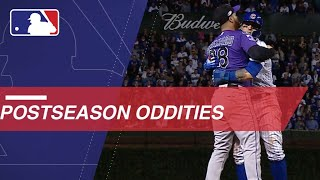 Here are some oddities from the 2018 postseason