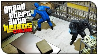 GTA 5 Heists Online Gameplay - THE PACIFIC STANDARD BANK HEIST! (Part 2/2) [GTA V Heists DLC]