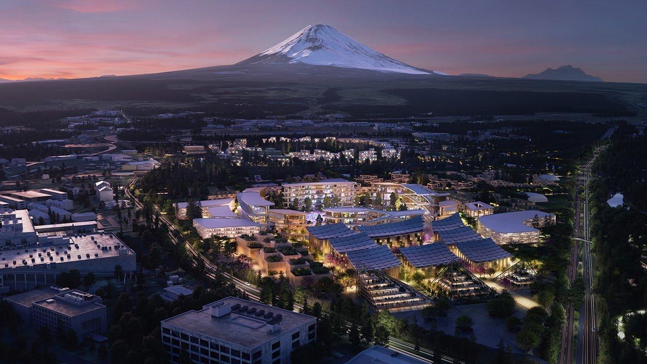 VIDEO: Toyota gradi 'pametni grad' u blizini planine Fudži