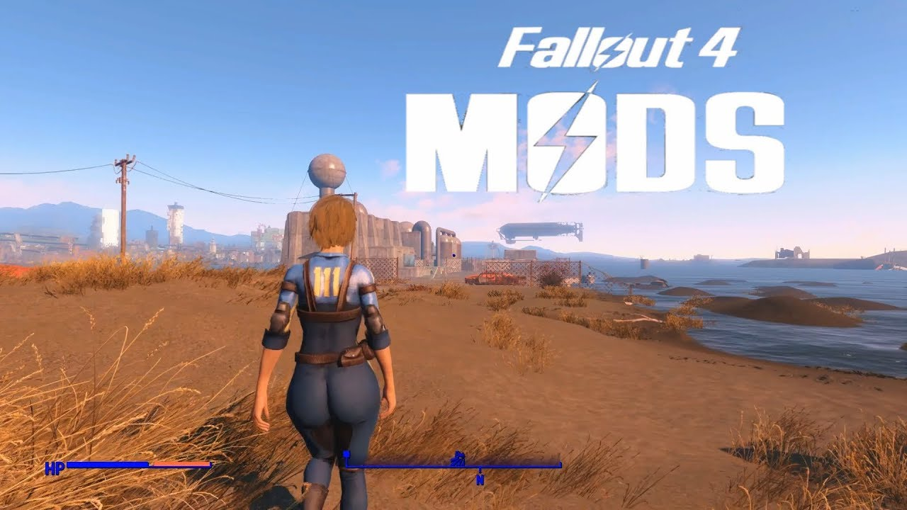 FALLOUT 4 MOD SHOWCASE: Pip-Pad Slooty Jumpsuit, Girly Animation🤖