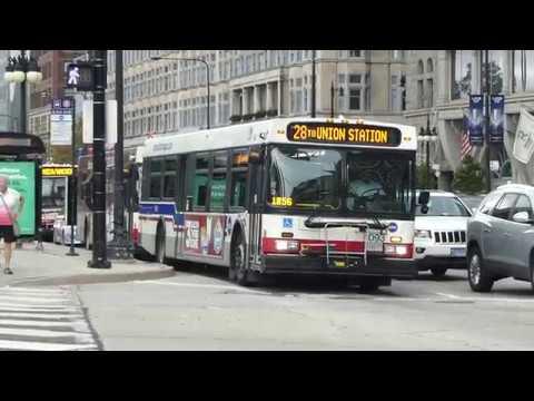 Cta Bus Michigan Van Buren Cta Bus Conga Line Routes 3 6