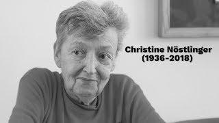 """Christine Nöstlinger """"Ein Buch braucht kein Happy End."""""""