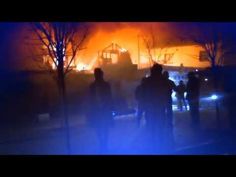 Пожар в Анапе на улице Терская 6 декабря 2018 ужасы нашего городка