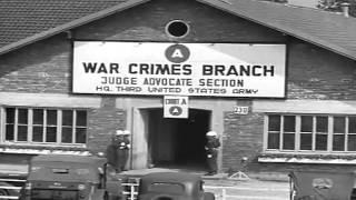 Munich No. 194: Malmedy War Crimes Trials, Dachau, Germany, 03/23/1946 (full)