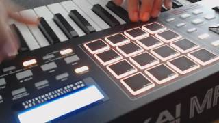 Beatmaking On MPK 249  | Reason 8 Live Session