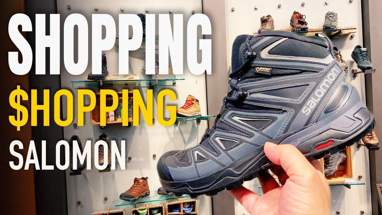 mua đồ chuẩn bị đi xuyên-Bang - giày đi bộ leo núi nổi tiếng Salomon - Cuộc Sống Mỹ ở Dallas 127